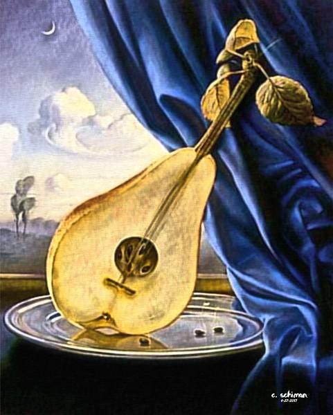 "a ""pear"" craviola guitar."
