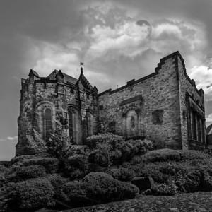 St. Margaret's Chapel at the Edinburgh castle, Scotland.