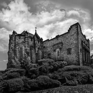 St. Margaret's Chapel, Edinburgh Castle, Scotland.