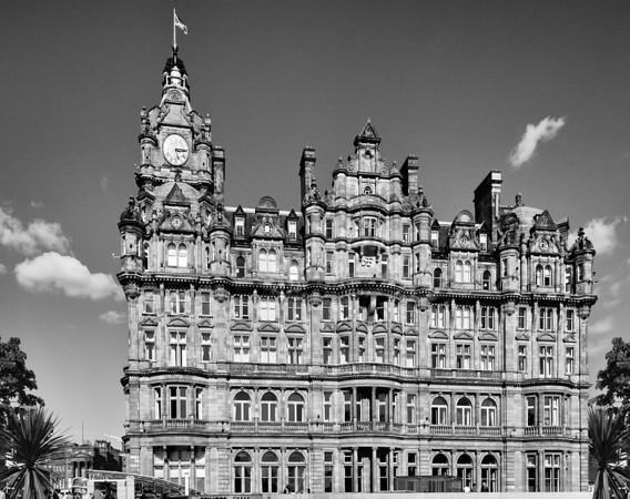 The Balmoral Hotel, Edinburgh Scotland.