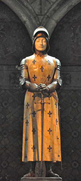 Joan of Arc, Reims Cathedral, 2013