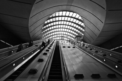 Canary Wharf Station - London UK