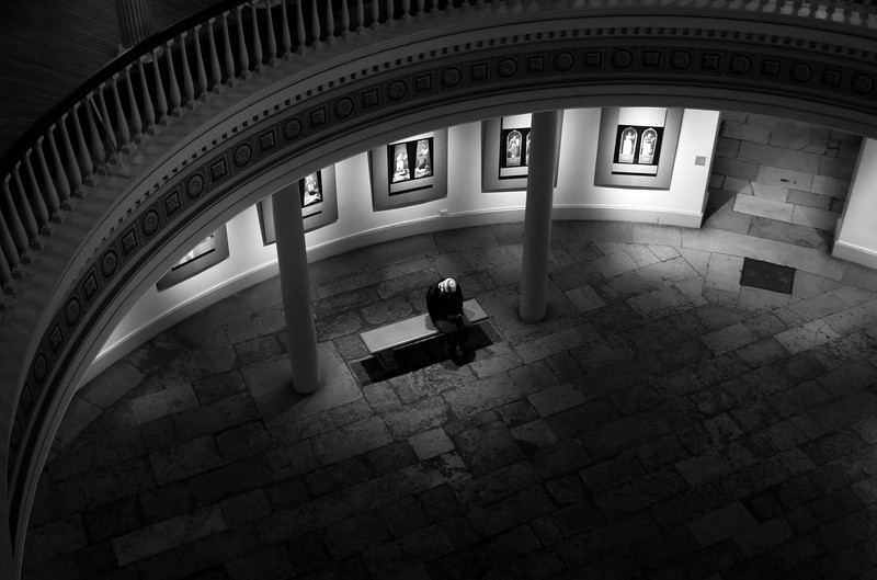 Alone, Historic Federal Courthouse, St. Louis