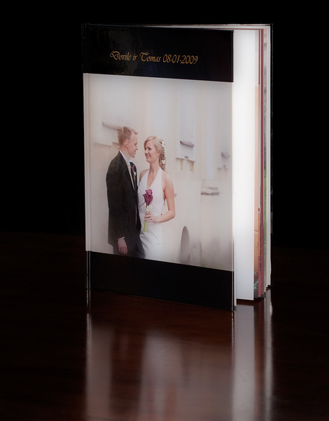 "8.5""x11"" vertical hardcover"