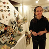 "Caroline Douglas is shown with some examples of her sculptures.<br /> The Open Studios Fall Artists Tour 2012 continues on  Oct. 7, 13, and 14th, from Noon to 6 p.m. each day.<br /> For more photos and a video of open studios, go to  <a href=""http://www.dailycamera.com"">http://www.dailycamera.com</a>.<br /> Cliff Grassmick  / October 6, 2012"