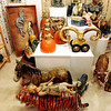 """Examples of the sculptures made by Caroline Douglas.<br /> The Open Studios Fall Artists Tour 2012 continues on  Oct. 7, 13, and 14th, from Noon to 6 p.m. each day.<br /> For more photos and a video of open studios, go to  <a href=""""http://www.dailycamera.com"""">http://www.dailycamera.com</a>.<br /> Cliff Grassmick  / October 6, 2012"""