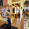 "Nancy Anderson, owner of the SweetBird Studio  near 17th and Pearl, looks over her belt buckles during the open studio tour on Saturday.<br /> The Open Studios Fall Artists Tour 2012 continues on  Oct. 7, 13, and 14th, from Noon to 6 p.m. each day.<br /> For more photos and a video of open studios, go to  <a href=""http://www.dailycamera.com"">http://www.dailycamera.com</a>.<br /> Cliff Grassmick  / October 6, 2012"