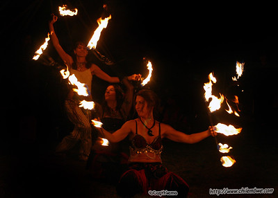 Fire  dancers , Brick house , gallery Sacramento ,CA.