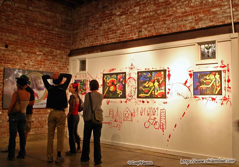 Brick House Gallery, Sacramento, California, September, 2006