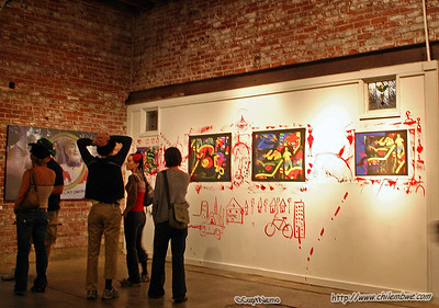 Brick House Gallery, Sacramento, California, September, 2006