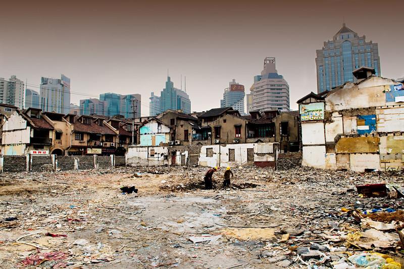 Shanghai, March 2008