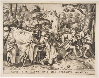 Marriage of Mopsus and Nisa