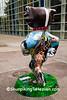 """Animals Need Bucky Too"" Statue, Madison, Wisconsin"