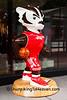 """Grateful Red"" Bucky Statue, Madison, Wisconsin"