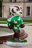 """One Leg Up"" Bucky Statue, Madison, Wisconsin"