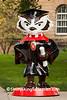 """Graduation Bucky"" Statue, Madison, Wisconsin"