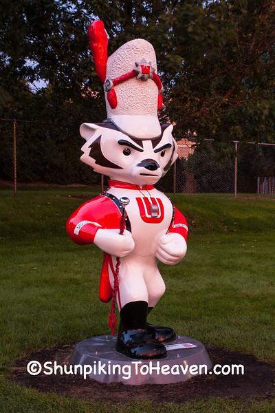 """Major Bucky"" Statue, Madison, Wisconsin"