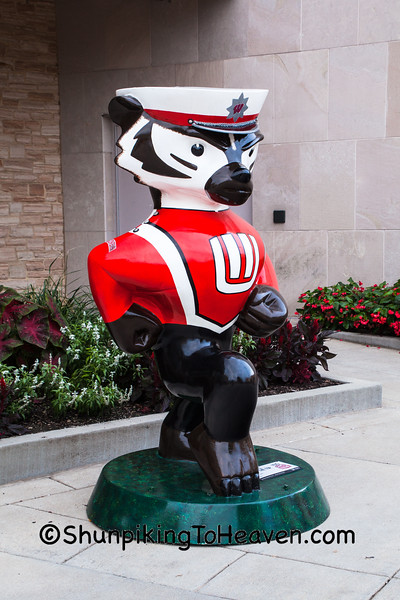 """""""Leckrone's Stop at the Top"""" Statue, Madison, Wisconsin"""