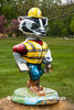 """Work Safe Bucky"" Statue, Middleton, Wisconsin"