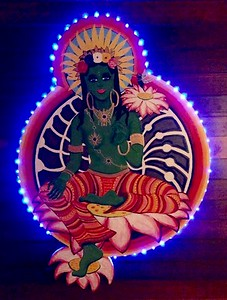 Green Tara at Night