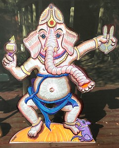 Original sketch for Ganesha, Remover of Obstacles