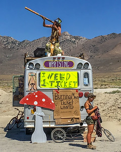 18029 Travelers from Oregon also looking for a ticket to Burning Man.