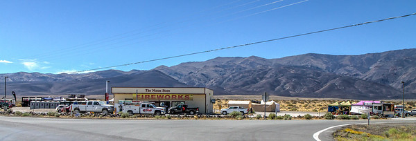 18043 The town of Nixon, population 418, part of the Pyramid Lake Paiute Tribe, is along the last 75 miles to Black Rock City.