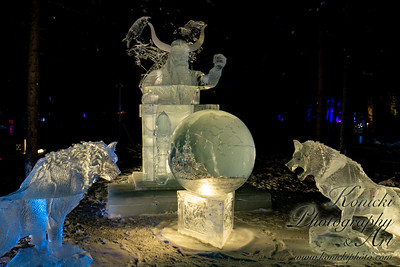 2019 Ice Alaska Exhibit: Valhala