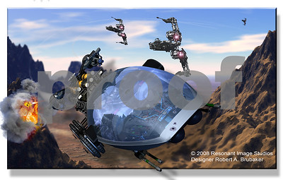 SIZED FOR 8x12  Sample CGI ART © 2009 RESONANT IMAGE STUDIOS - PHOTOGRAPHER - DESIGNER - ROBERT A. BRUBAKER (All Rights Reserved)For special order requests please e-mail: INFO@RESONANTIMAGE.COM