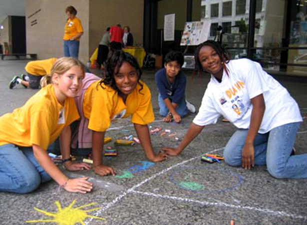 CHALK4PEACE 2006 Washington, DC