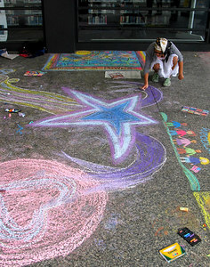 CHALK4PEACE 2006 Washington, DC Dr. Martin Luther King, Jr. Memorial Library Every Artist is a Star...