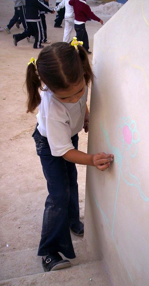 CHALK4PEACE 2007-Bethlehem, West Bank  SOS Herman Gmeiner School  photo: Sarah Jayne Bleiweis