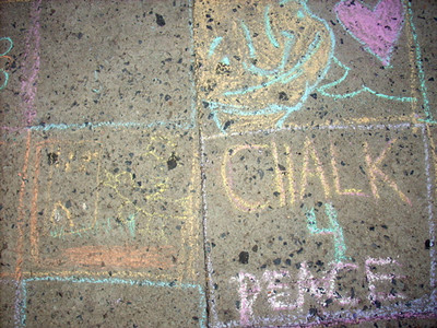 The Children's Museum of the Arts of New York City It's now happened on the sidewalks of New York! Next stop: The steps of the Met! photo: