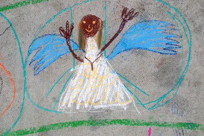A beautiful angel Cragmont Elementary School Berkeley, CA photo: Jerry Downs Photography