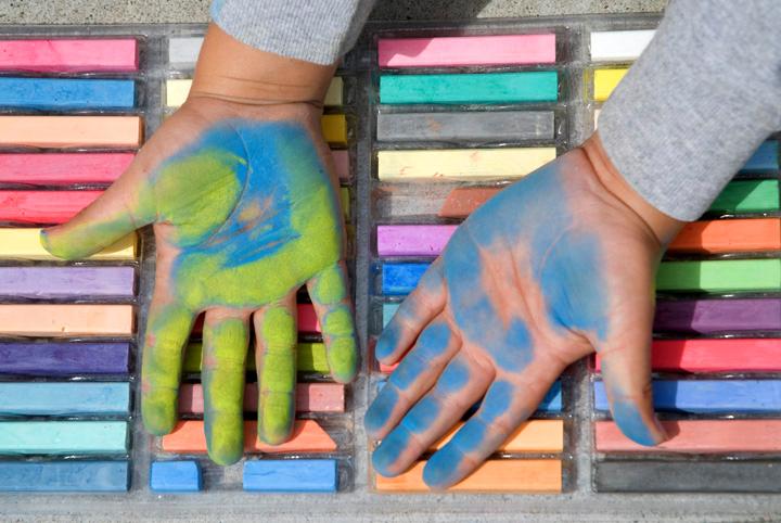So many colors... Cragmont Elementary School Berkeley, CA photo: Jerry Downs Photography