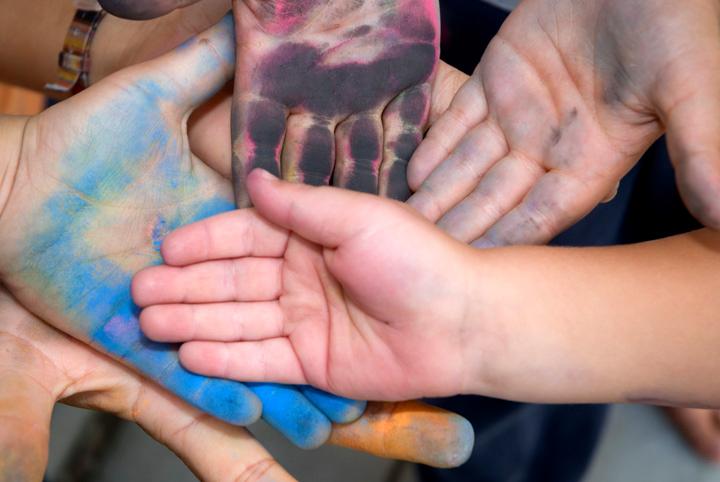It's a dirty job... Cragmont Elementary School Berkeley, CA photo: Jerry Downs Photography