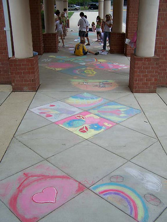 Fairfax County Public Schools, Virginia CHALK4PEACE 2007