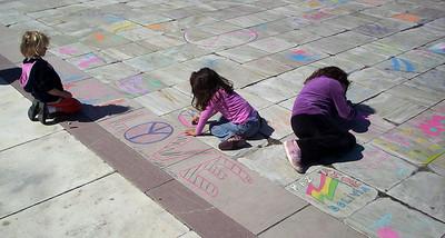 Tizas Para La Paz Organization of American States Washington, DC Photo: Roger Cutler