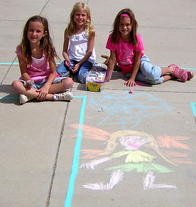 Team Fairy Superior Elementary School, Louisville, CO CHALK4PEACE School District Invitational Organized by Michael Wojzcuk, Arts Specialist Photo: Mike Wojzcuk