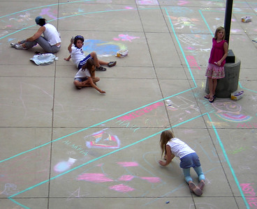 Superior Elementary School, Louisville, CO CHALK4PEACE School District Invitational Organized by Michael Wojzcuk, Arts Specialist Photo: Mike Wojzcuk