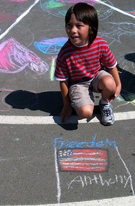 Peace is Freedom Valley View Elementary School Richmond, CA 9/14/07 photo: Dumas/Aaron