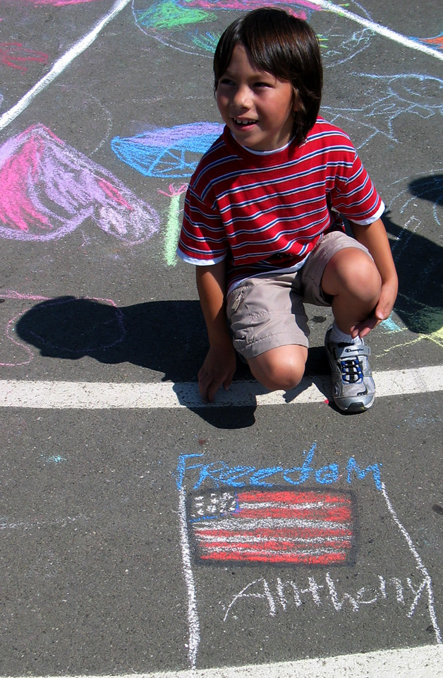 Peace is Freedom Valley View Elementary School Richmond, CA 9/14/07 photo: Dumas/Aaron