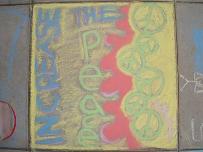 CHALK4PEACE 2008 ART N SOUL on 101, Encinitas, CA