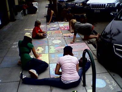 CHALK4PEACE 2008 ART N SOUL, Encinitas, CA