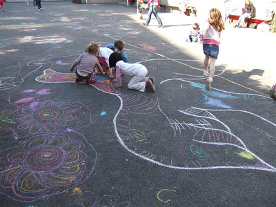 CHALK4PEACE 2008 Cork School Project, Cork City, Ireland  photo: Louise Foott