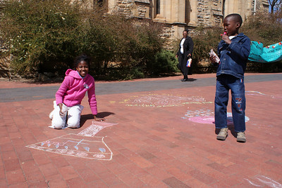 CHALK4PEACE 2008 Grahamstown, South Africa  photo: