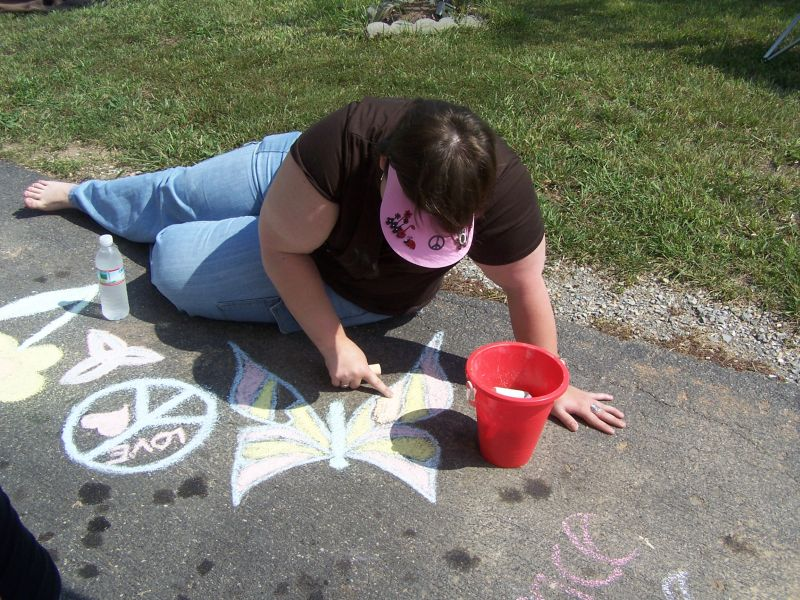CHALK4PEACE 2008 Knoxville, TN 
