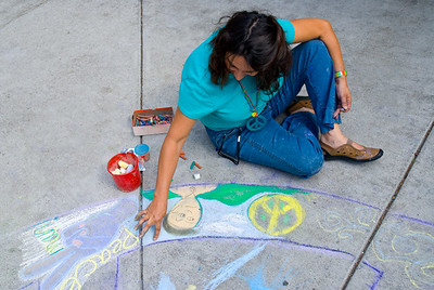 CHALK4PEACE 2008 MOCHA, Oakland, CA  photo: Jerry Downs
