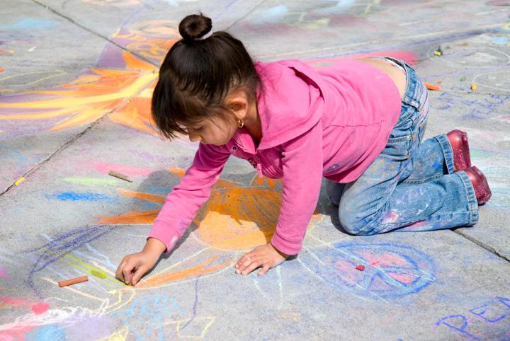 CHALK4PEACE 2008 MOCHA, Oakland, CA  photo: Jerry Downs