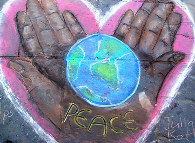 CHALK4PEACE 2008 St. George's Cathedral, Cape Town, South Africa